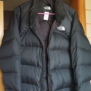 The North Face goose down winter jacket